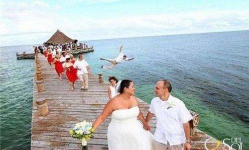 Свадебные фотоприколы (37 шт)