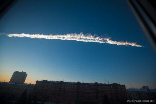 Падение метеорита в Челябинске (18 фото + 6 видео)