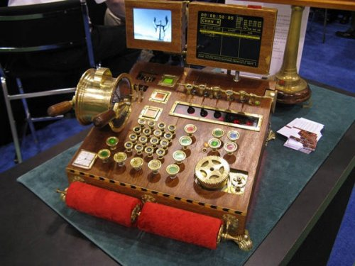 Стимпанк: технологии и викторианская эпоха как отдельный вид механического искусства (21 фото)