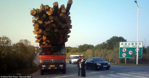 Перевозка грузов в Китае (23 фото)