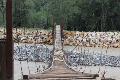 Подвесные мосты для смельчаков
