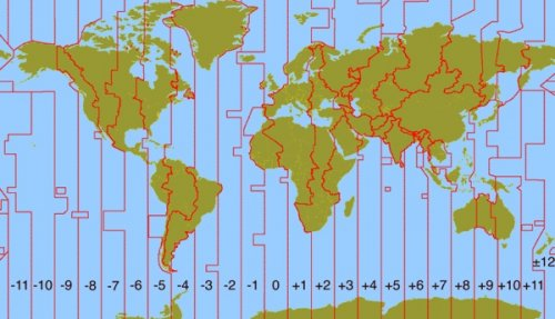10 Малоизвестных фактов о часовых поясах