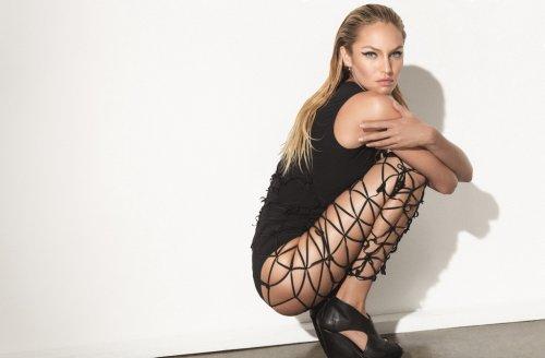 Кендис Свейнпол в фотосессии для журнала Muse (18 фото)