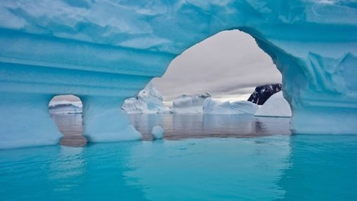 Потрясающие фотографии айсбергов (35 шт)