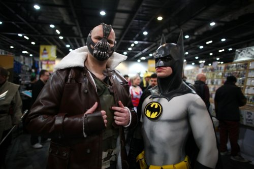 ������� �� ���������� Super Comic Convention 2013