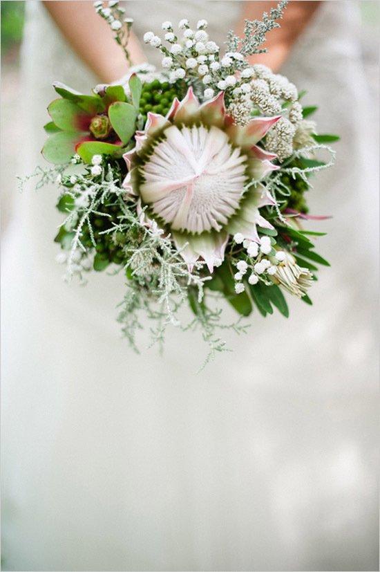 Необычные и оригинальные свадебные букеты невест