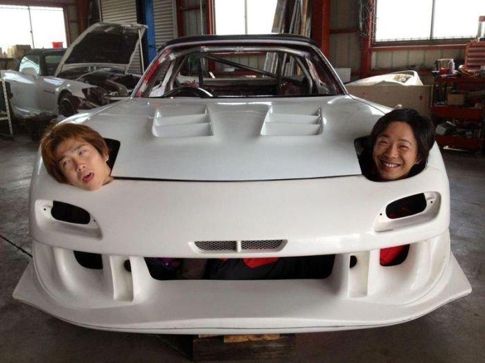 Ржачные картинки с автомобилем, про любовь