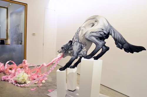 Скульптуры животных от Beth Cavener