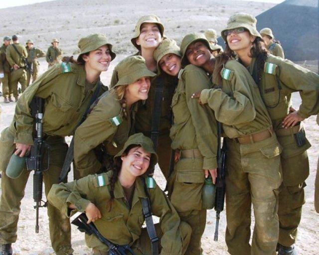 Служащих в армии обороны израиля