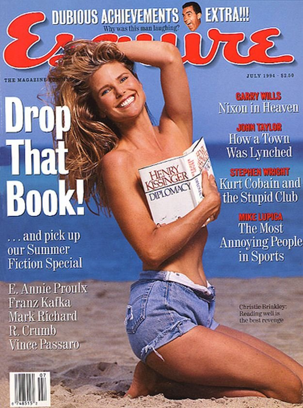an analysis of the contents of the esquire magazine Look younger, lose 10 pounds, and influence your audience: a content analysis of popular men's and women's magazine cover blurbs and the messages.