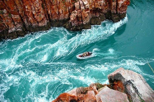 Водопады в заливе талбот австралия