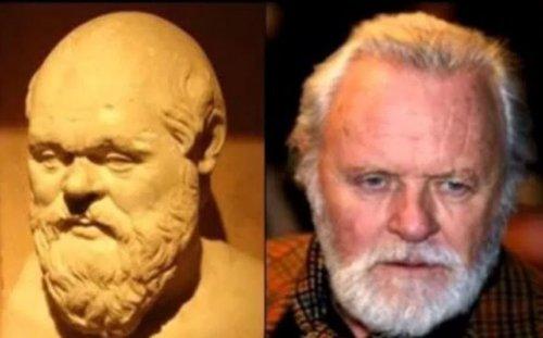 Знаменитости и их исторические двойники (7 фото)