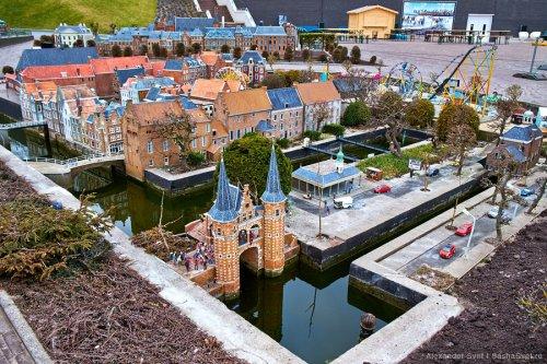 Madurodam – интерактивный парк миниатюр в Нидерландах (25 фото)