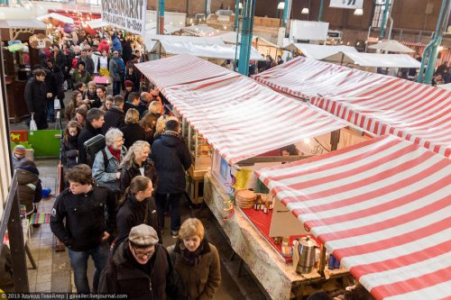 Сладости и вкусняшки на берлинском рынке Naschmarkt (27 фото)