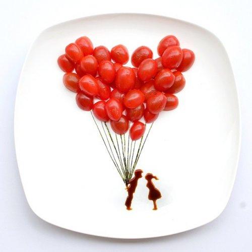 Творчество и продукты питания — проект малазийской художницы Hong Yi (12 фото)