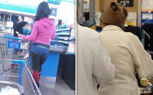 Чудаки в супермаркетах (22 фото)