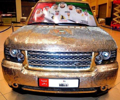 Стайлинг автомобилей по-арабски, или Подарок Родины (23 фото)