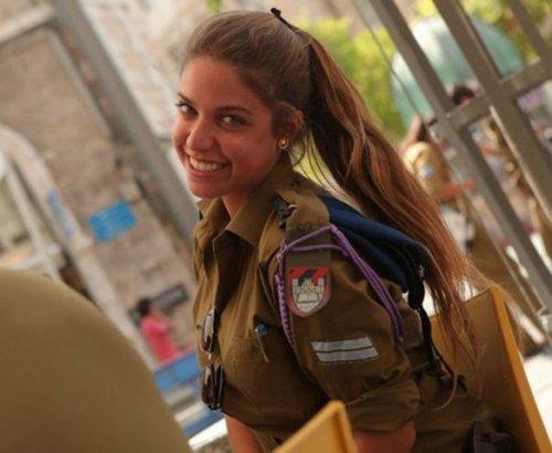 Девушки израильской армии (34 фото)