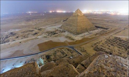 Каир и египетские пирамиды в Гизе (23 фото)