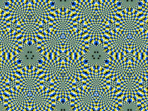 Картинки-иллюзии, созданные японским профессором психологии Акиоши Китаока (18 шт)