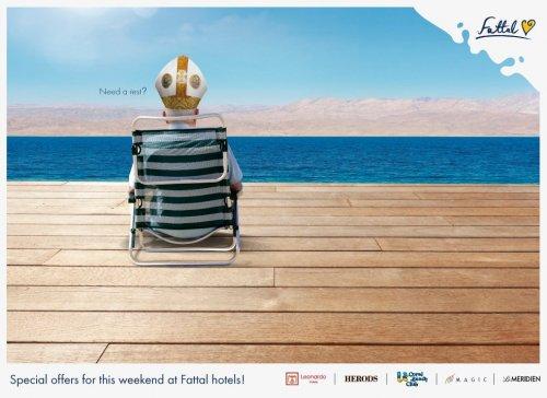 Лучшие образцы печатной рекламы за последние два месяца