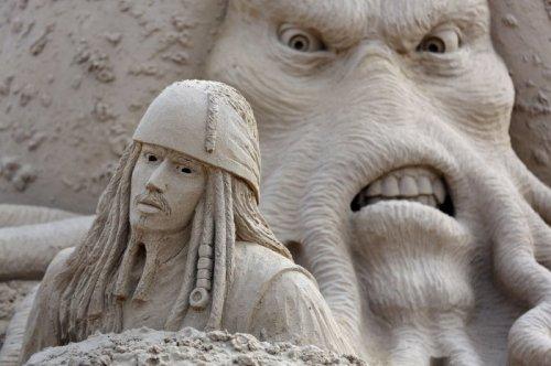 Песчаные скульптуры Уэстонского фестиваля (26 фото)