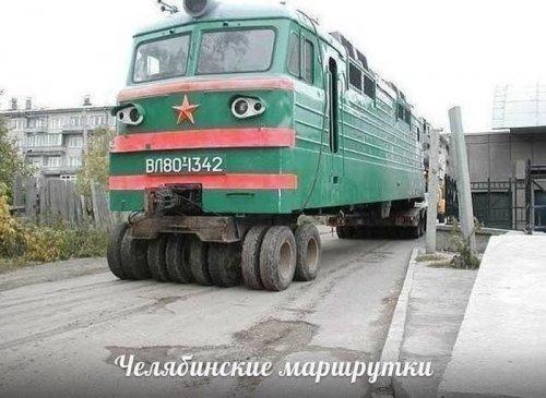 Автомир в прикольных картинках (20 шт)