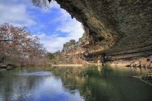 Заповедный пруд Хэмилтона в Техасе (10 фото)