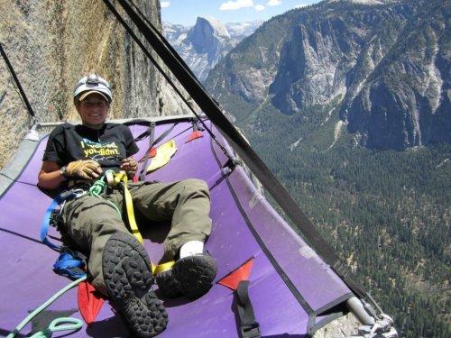 Как альпинисты ночуют в Национальном парке Йосемити (9 фото)