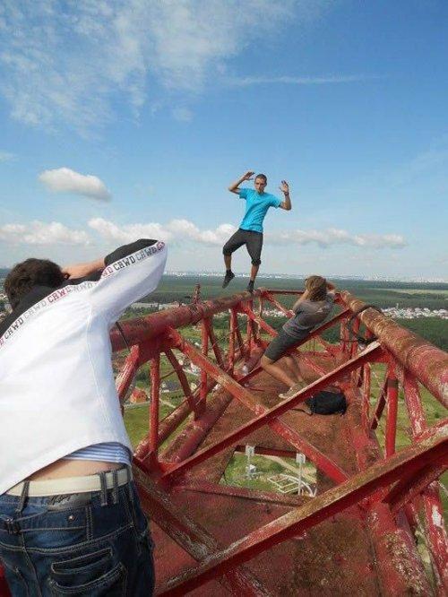Украинский Человек-паук утверждает, что страха не существует