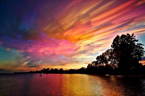 Необычное размытое небо в фотографиях Мэтта Моллоя (14 фото)
