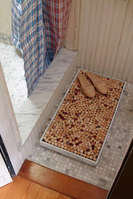 Напольные пробковые коврики своими руками