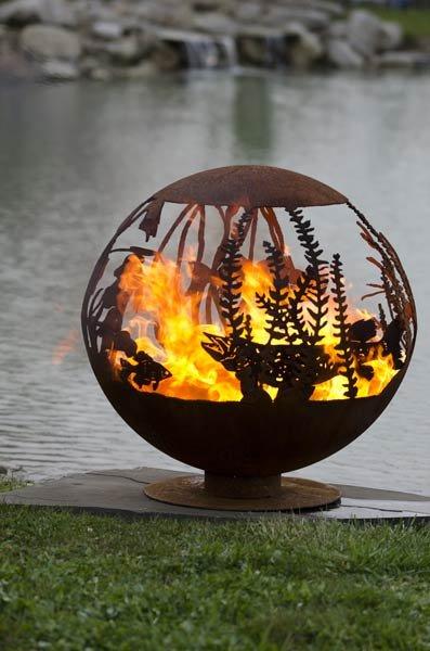 Креативные чаши для огня от Мелиссы Крисп (11 фото)