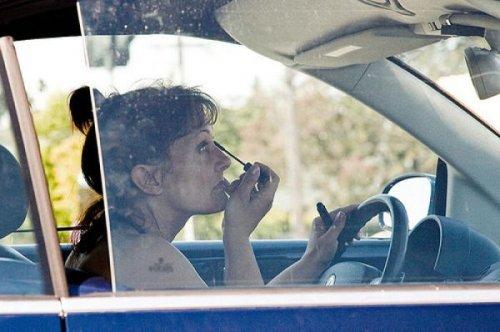 Когда дамы за рулём (31 фото)