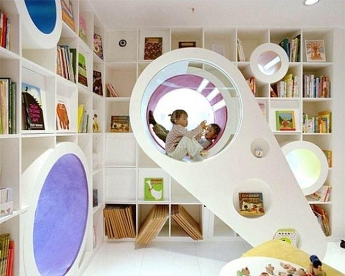 Интересные детские комнаты