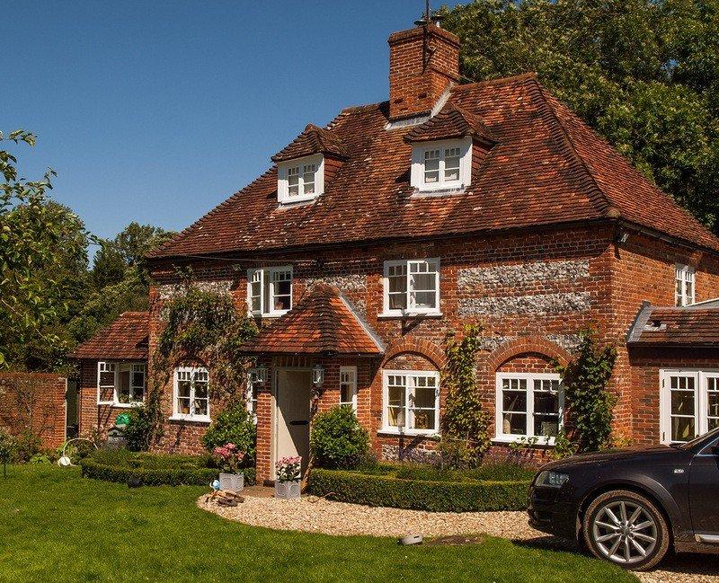 фото английских квартирных домов