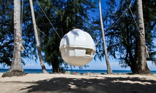 Роскошная палатка Cocoon Tree для отдыха с комфортом (12 фото)