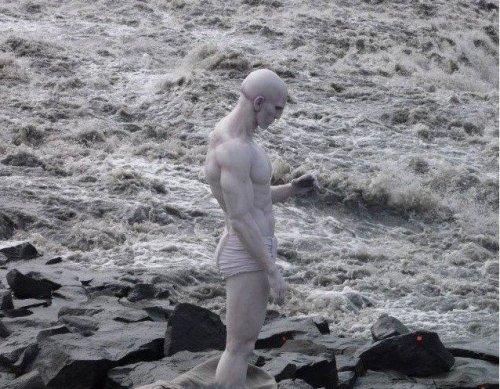 """Косплей от профессионалов: инопланетянин из """"Прометея"""" (8 фото)"""