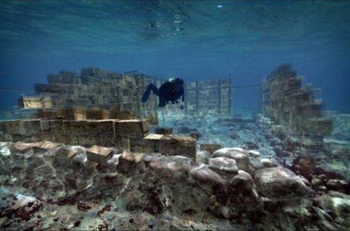 10 Невероятных руин, погружённых под воду