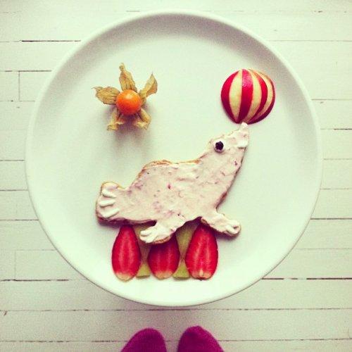 Креативный дизайн еды от Иды Скивенес (29 фото)
