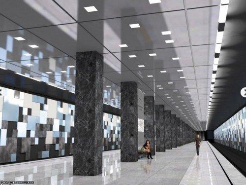 Посмотрите проекты новых станций метро в Москве.  Осуществить их планируют к 2020 году.  По моему эти фото перевернут...