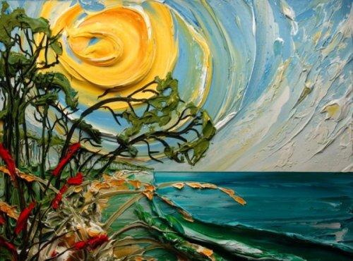 Восхитительные объёмные картины Джастина Джеффри (14 фото + 1 видео)