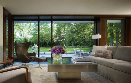 Интересные и красивые интерьеры домов (39 фото)
