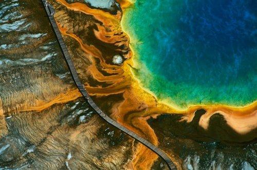 Красота Земли с высоты птичьего полёта (20 фото)