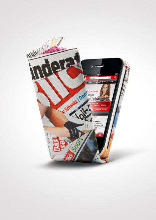 Принты для рекламной кампании Blick More (6 шт)