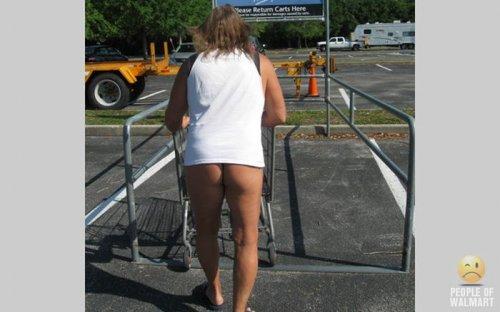Чудаки в супермаркетах (19 фото)