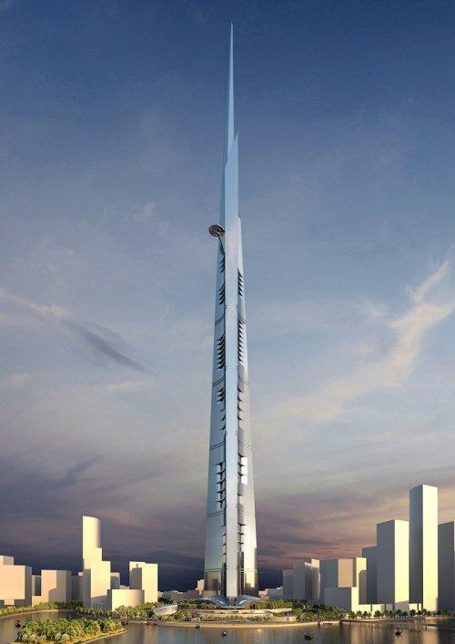 В Саудовской Аравии будет возведён самый высокий в мире небоскрёб (9 фото)