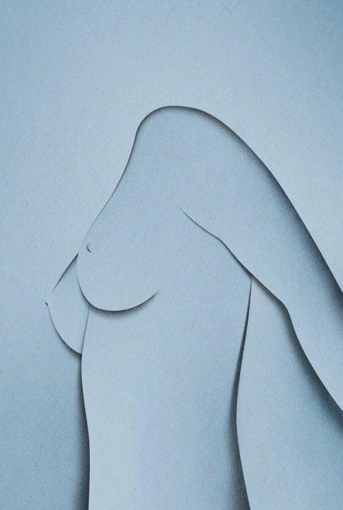 Бумажные иллюстрации Эйко Ояла (28 шт)