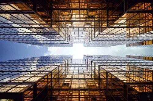 Великолепные небоскрёбы Гонконга с совершенно другой перспективы (10 фото)