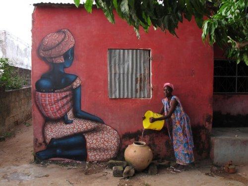 Уличные рисунки Жульена Малланда (20 фото)